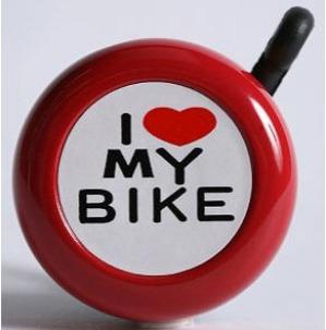 I love my bike bell 1
