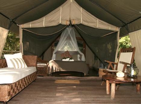 Mr & Mrs Smith_Paperbark Camp_Jervis Bay_Australia_Deluxe Tent Interior