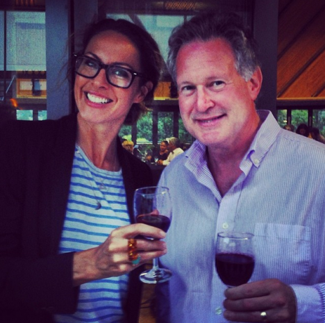 Dr Robert Lustig and I share a wine after chatting why the red stuff is good for you