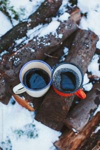 coffee snow